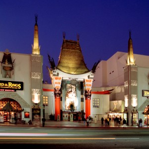 Chinese Hollywood Front Facade
